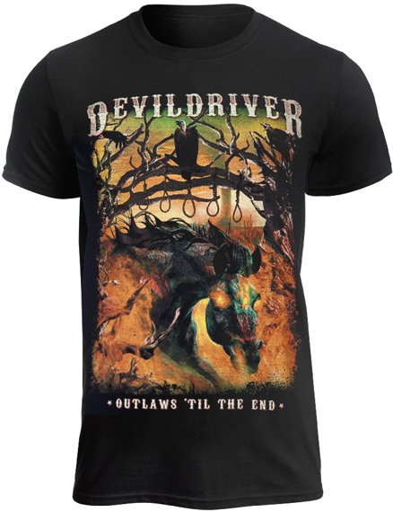 koszulka DEVILDRIVER - OUTLAWS TILL THE END VOL1
