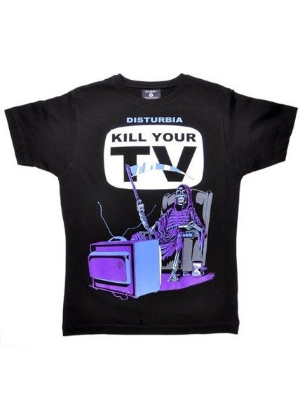 koszulka DISTURBIA - KILL YOUR TV