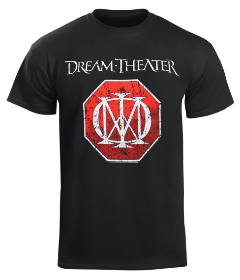 koszulka DREAM THEATER - RED LOGO