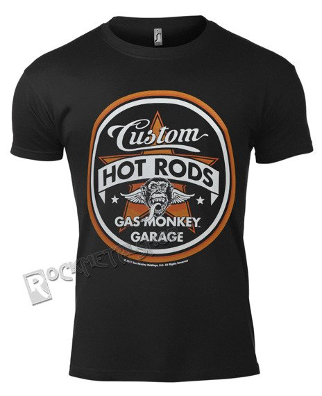 koszulka GAS MONKEY GARAGE - CUSTOM HOT RODS
