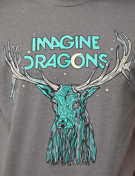 koszulka IMAGINE DRAGONS - ELK IN STARS