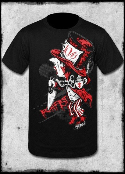 koszulka IRON FIST - MURDER TEA PARTY (BLACK)