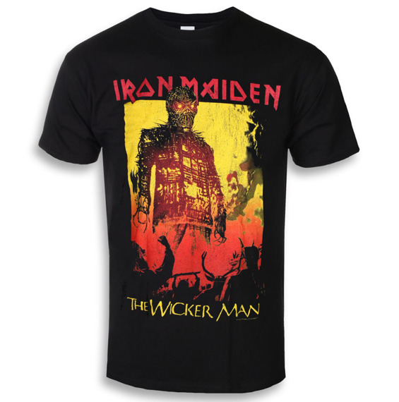 koszulka IRON MAIDEN - THE WICKER MAN FIRE