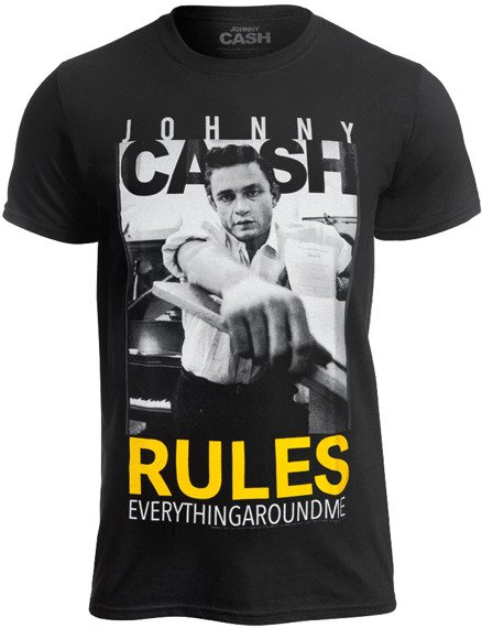 koszulka JOHNNY CASH - RULES EVERYTHING
