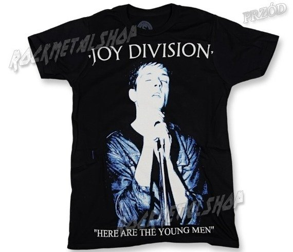 koszulka JOY DIVISION - HERE ARE THE YOUNG MEN