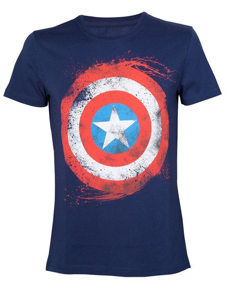 koszulka MARVEL - CAPTAIN AMERICA SHIELD