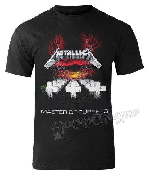 koszulka METALLICA - MASTER OF PUPPETS EUROPEAN TOUR 86′