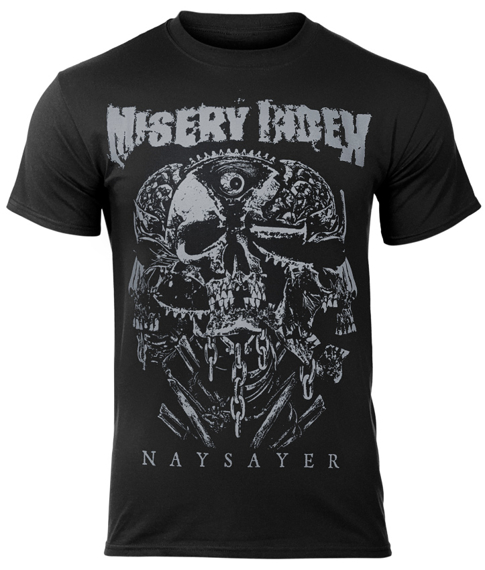 koszulka MISERY INDEX - NAYSAYER