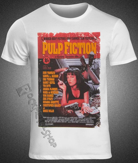 koszulka PULP FICTION - POSTER COLOR