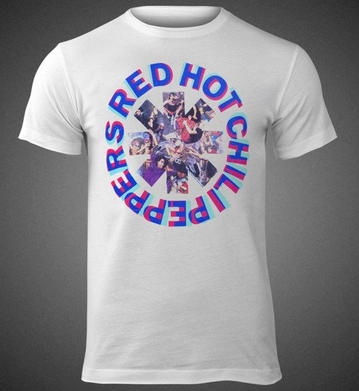 koszulka RED HOT CHILI PEPPERS - FREAKY STYLEY WHITE