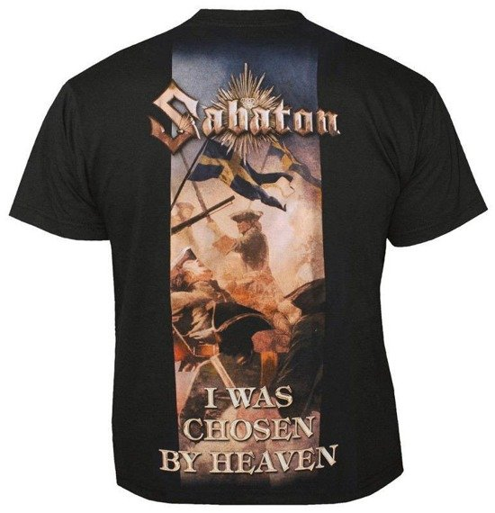 koszulka SABATON - I WAS CHOSEN BY HEAVEN
