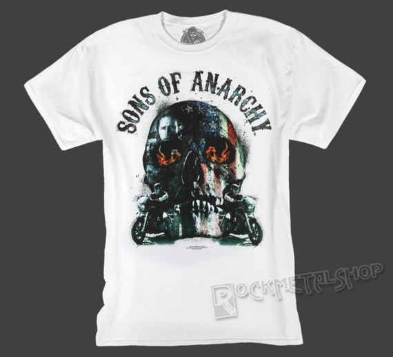koszulka SONS OF ANARCHY - BIKER SKULL