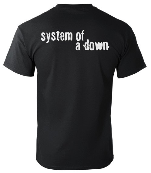 koszulka SYSTEM OF A DOWN - CLOCK