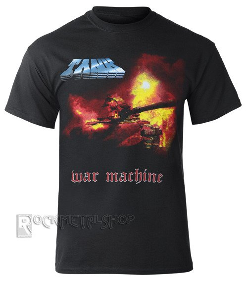 koszulka TANK - WAR MACHINE COVER