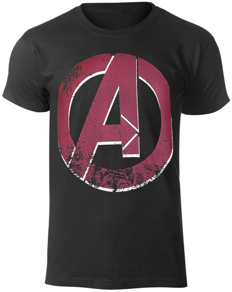 koszulka THE AVENGERS - DISTRESSED A LOGO