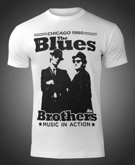koszulka THE BLUES BROTHERS - CHICAGO 1980
