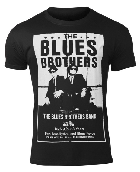 koszulka THE BLUES BROTHERS - POSTER