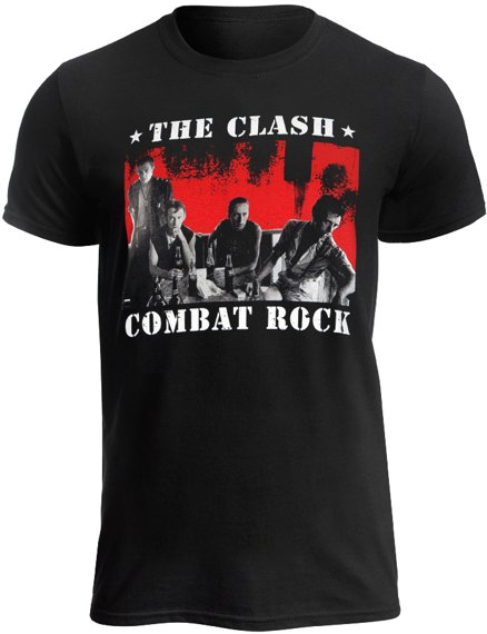 koszulka THE CLASH - BANGKOK COMBAT ROCK