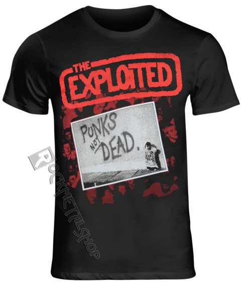 koszulka THE EXPLOITED - PUNKS NOT DEAD