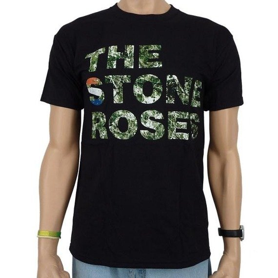 koszulka THE STONE ROSES - BLACK ALBUM LOGO