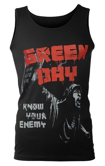 koszulka na ramiączkach GREEN DAY - KNOW YOUR ENEMY