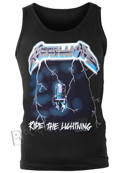 koszulka na ramiączkach METALLICA - RIDE THE LIGHTNING
