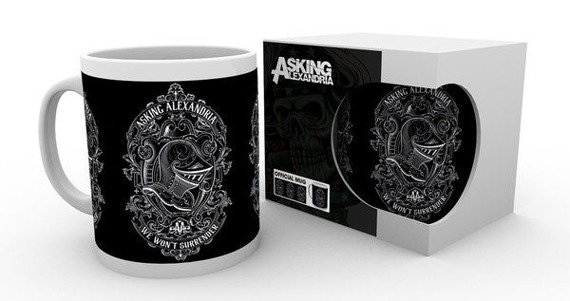 kubek ASKING ALEXANDRIA - SURRENDER