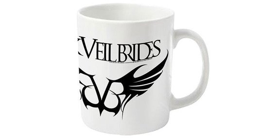 kubek BLACK VEIL BRIDES - REBELS LOGO