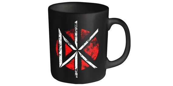 kubek DEAD KENNEDYS - LOGO DISTRESSED