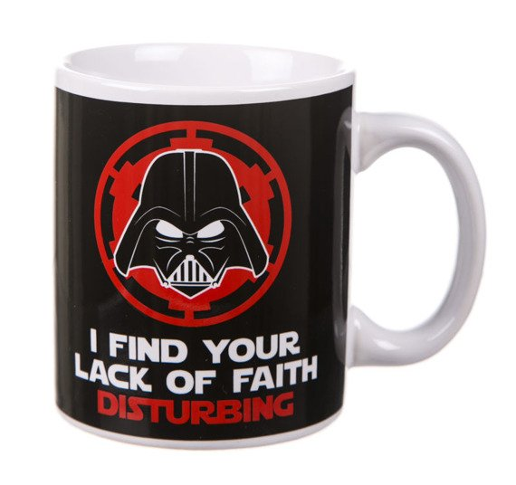 kubek STAR WARS - LACK OF FAITH