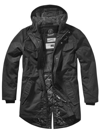 kurtka MARSH LAKE TEDDYPARKA MEN black