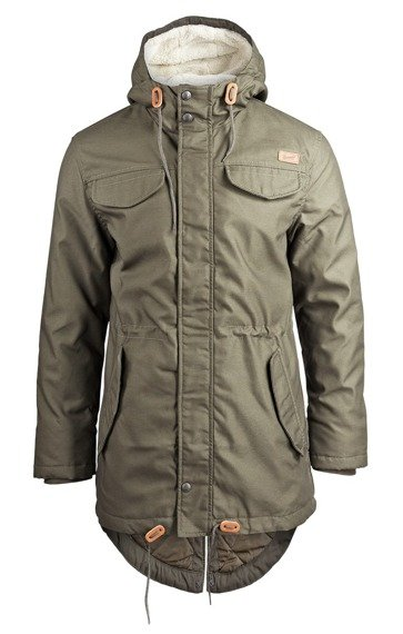 kurtka MARSH LAKE TEDDYPARKA MEN olive