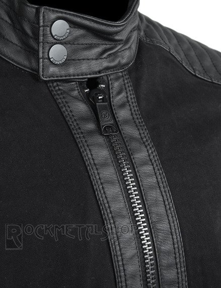 kurtka ROAD KING VINTAGE - BLACK