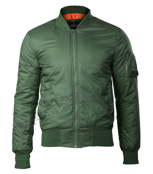 kurtka flyers BASIC BOMBER JACKET oliv