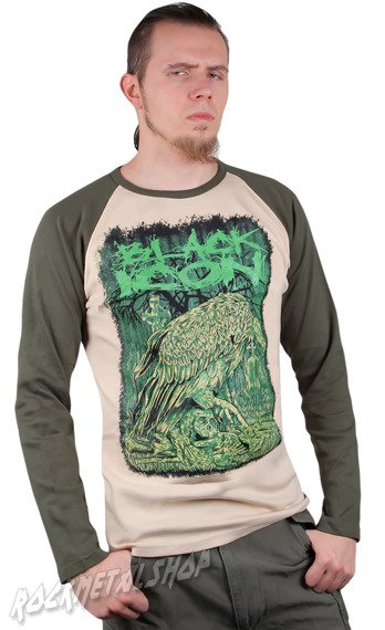 longsleeve BLACK ICON - VULTURES khaki / beżowy (LICON040)