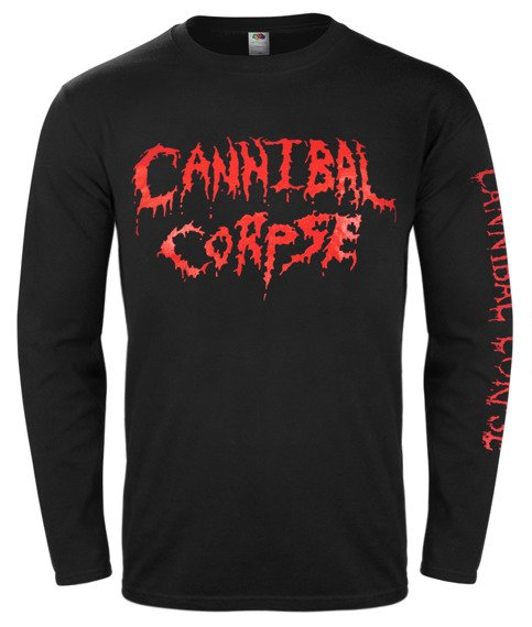 longsleeve CANNIBAL CORPSE - OLD RED LOGO