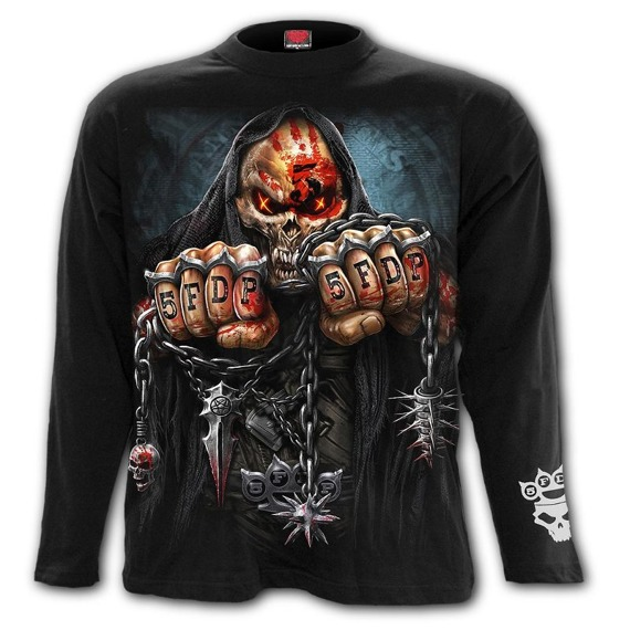 longsleeve FIVE FINGER DEATH PUNCH - GAME OVER