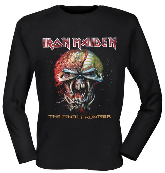 longsleeve IRON MAIDEN - THE FINAL FRONTIER WORLD TOUR