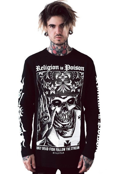 longsleeve KILL STAR - RELIGION