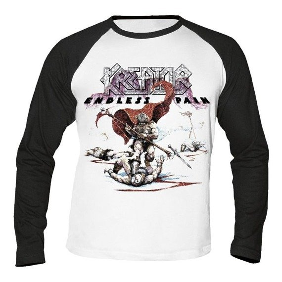 longsleeve KREATOR - ENDLESS PAIN WHITE