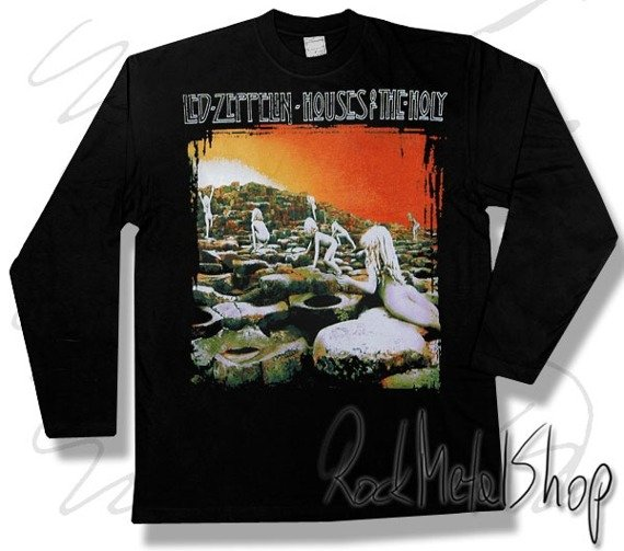 longsleeve LED ZEPPELIN - HOUSES OF THE HOLY