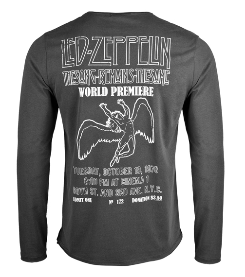longsleeve LED ZEPPELIN - THE SONG REMAINS