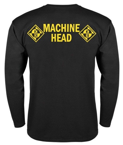 longsleeve MACHINE HEAD - YELLOW SIGN