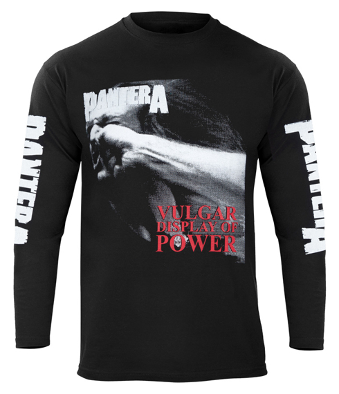 longsleeve PANTERA - VULGAR DISPLAY OF POWER