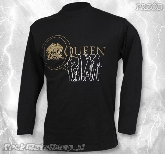 longsleeve QUEEN - GOLD