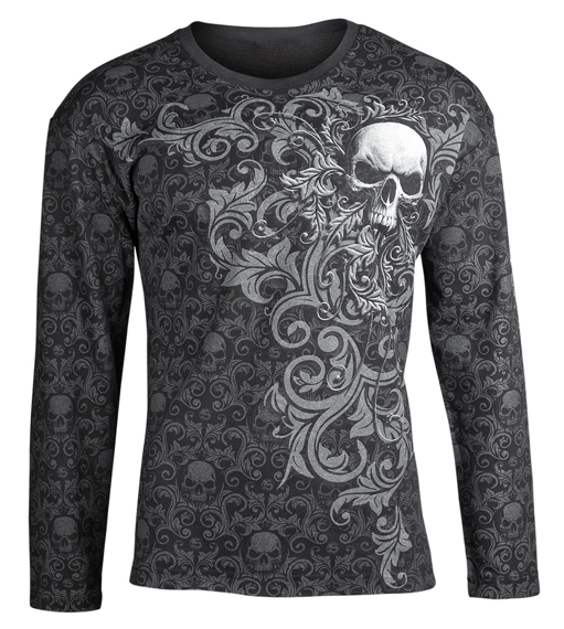 longsleeve SKULL SCROLL