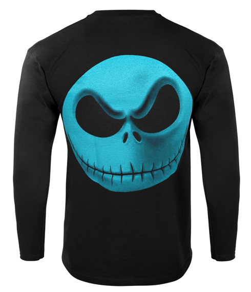 longsleeve THE NIGHTMARE BEFORE CHRISTMAS - JACK YELLOW