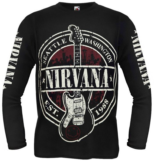 longsleeves NIRVANA - SEATTLE WASHINGTON
