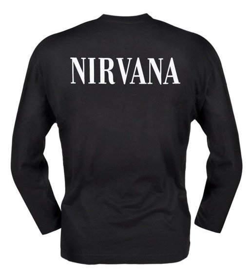 longsleeves NIRVANA - SMILEY