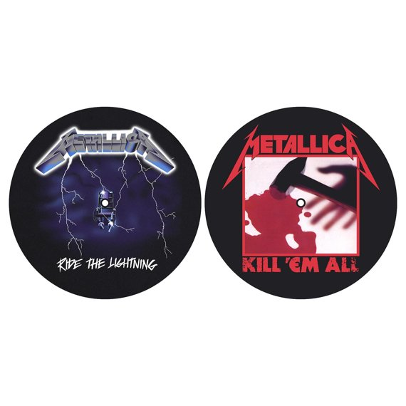 mata gramofonowa slipmata METALLICA - KILL EM ALL / RIDE THE LIGHTENING